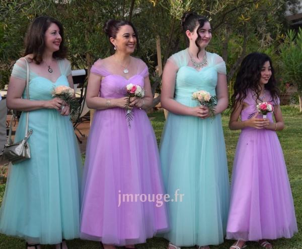 Robe de soirée longue princesse convertible pour mariage
