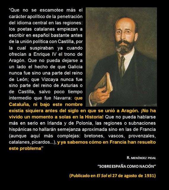 Ramón Menéndez Pidal, idioma, Cataluña