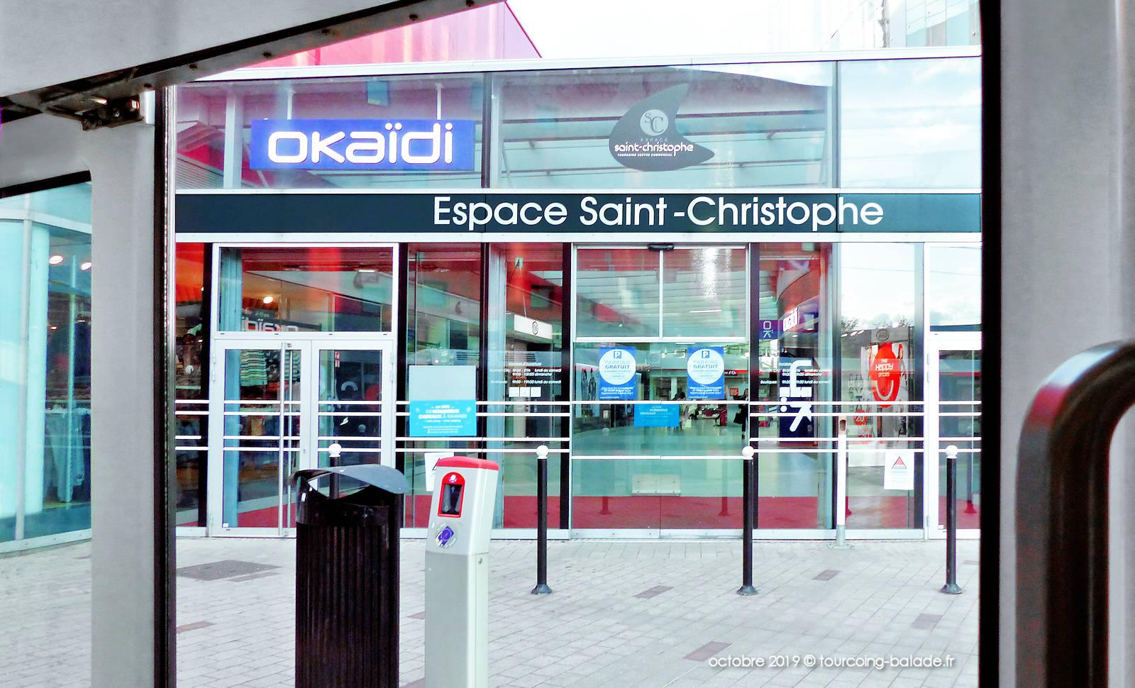 Passage Mongy Tourcoing - Entrée Espace Saint-Christophe