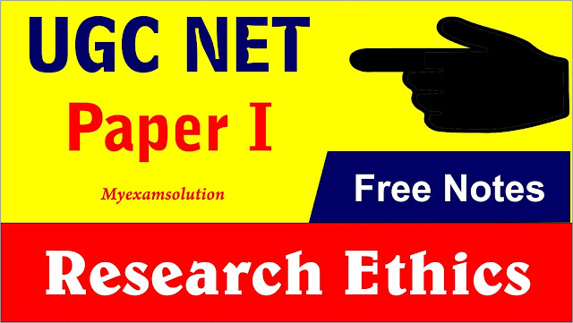 ugc net paper 1 notes, research ethics notes, what is research