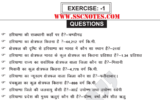 Top 1800+ HSSC General Knowledge Hindi PDF Download