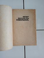 Buku Resep Masakan Internasional