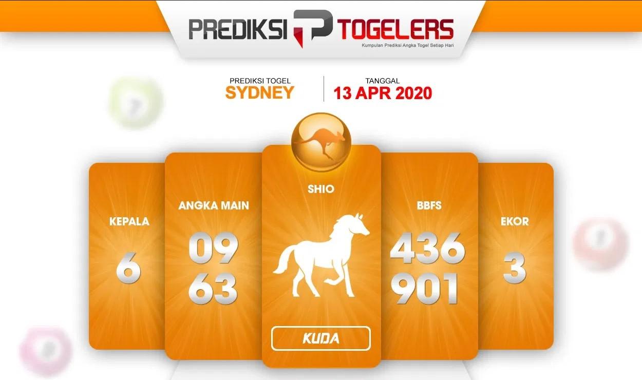 Prediksi Sidney Senin 13 April 2020 - Prediksi Togellers