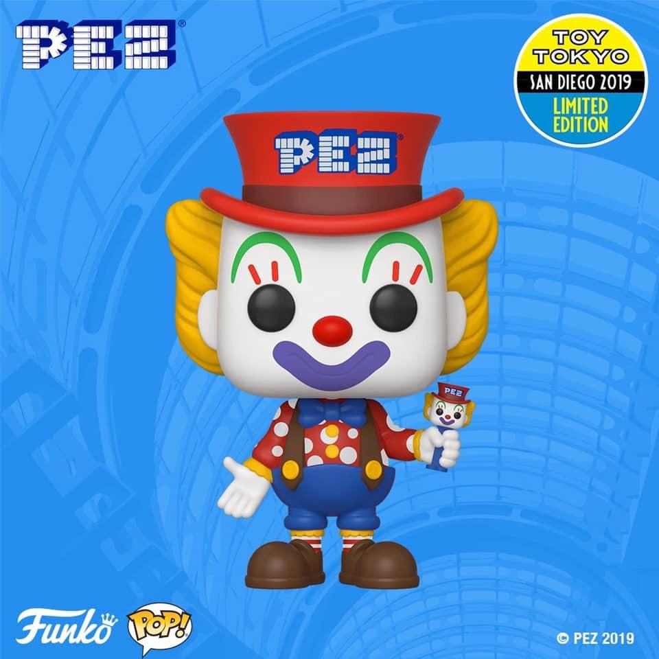2019 SDCC Exclusive Reveals: Peter PEZ Pop! | Cool Dad Pop Culture