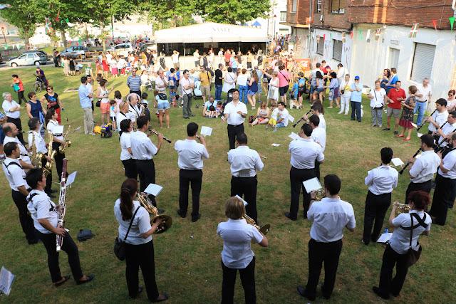 La Banda de Música ofrece su concierto en las fiestas de Llano