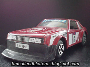 Toyota Celica Toy Vehicle