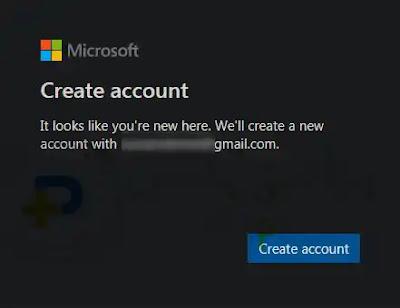 انشاء حساب مايكروسوفت تيم