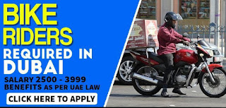 Requirement Bike Riders Jobs Vacancy in Eurostar Communications LLC Location Dubai