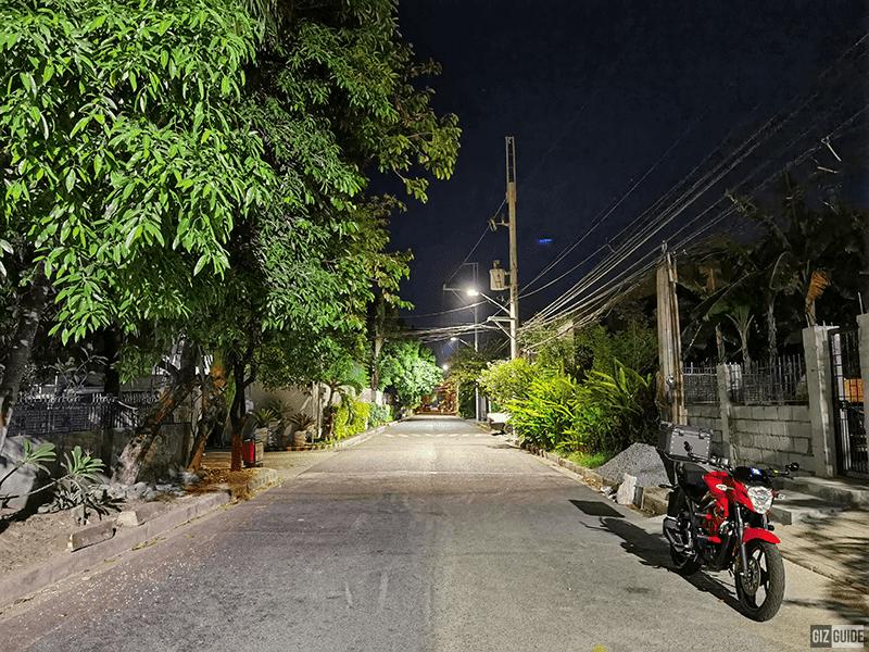 Low light main cam w/o Night mode