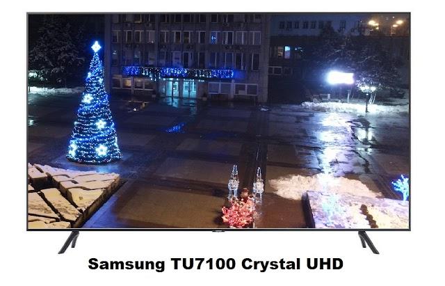 Samsung TU7100 Crystal UHD 4K HDR Smart TV