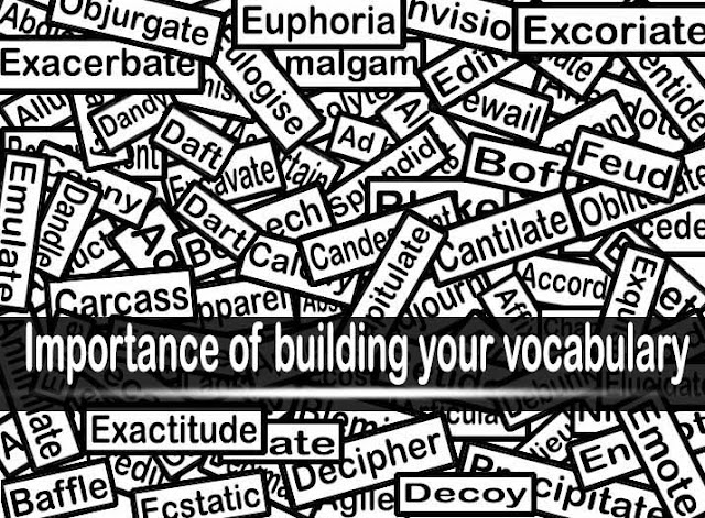 Words to help you improve your vocabulary