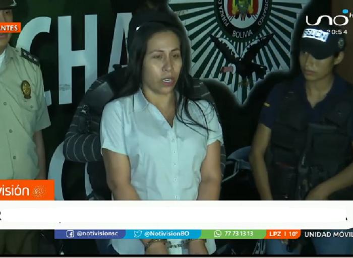 Vallejos negó los cargos y se acogió al derecho al silencio / CAPTURA RED UNO