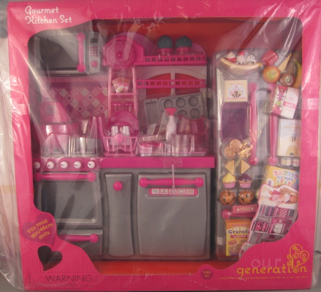 "Our Generation Kitchen Set: Our Generation ""Jenny And Her Gourmet Kitchen"" Set"
