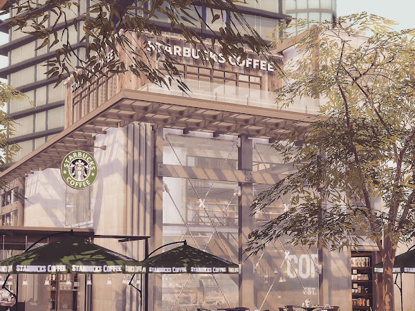 Sims 4 Starbucks  星巴克咖啡