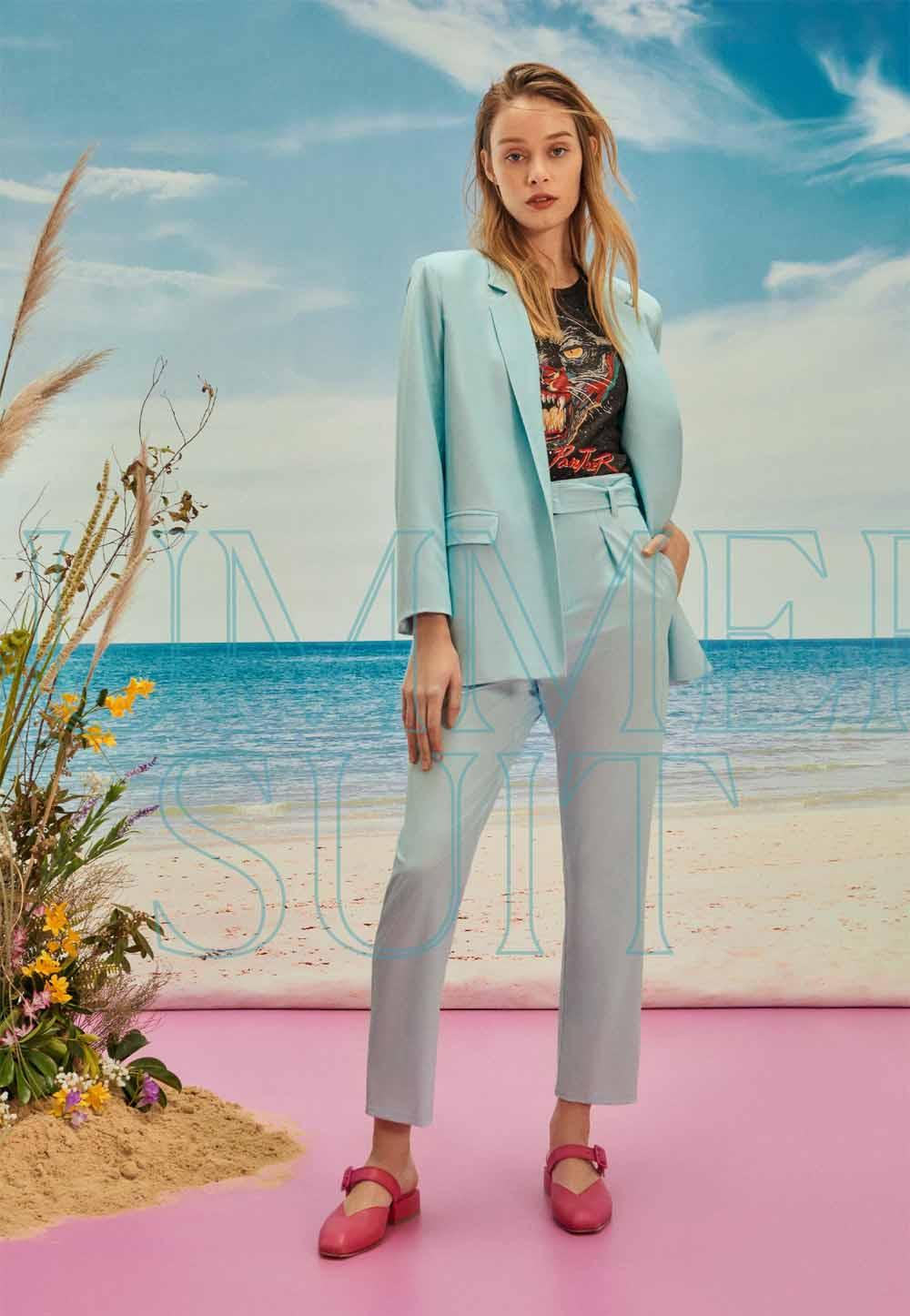 blazers y sacos de moda mujer primavera verano 2021