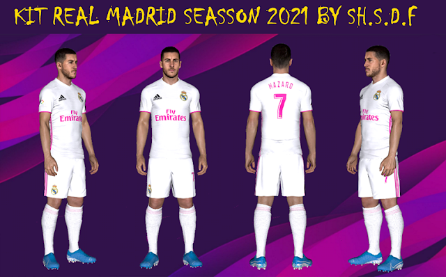 PES 2017 Real Madrid 2021 Kit by SH.S.D.F