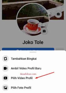 Cara Membuat Foto Profil FB Bergerak