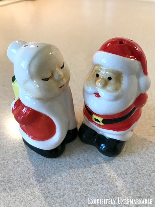 Dollar Store Christmas Salt And Pepper Shakers