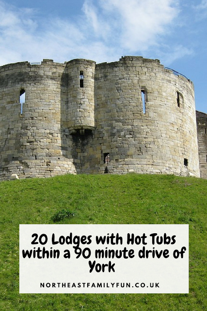 20 Lodges with Hot Tubs within a 90 minute drive of York