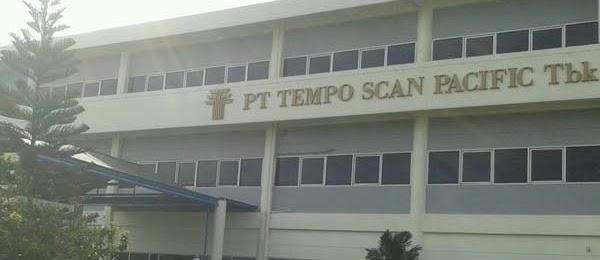 Loker Operator Produksi Via Pos PT Tempo Scan Pacific Cikarang