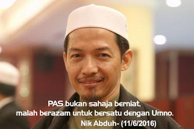 Image result for nik abduh - pas berbaik dengan umno