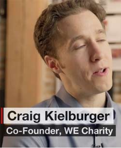 Craig Kielburger, for CNN