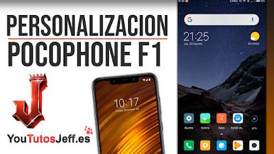 Personalización Pocophone F1 TOTALMENTE IMPACTANTE - Descargar Poco Launcher
