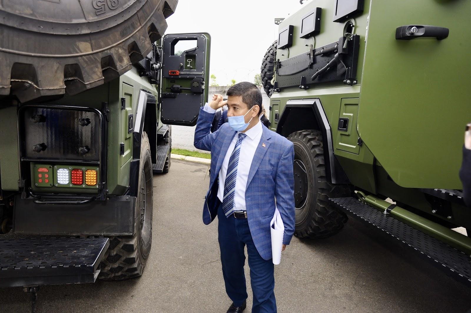 Делегація з Індонезії відвідала компанію Українська бронетехніка