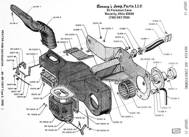 1986 Jeep CJ7 Restoration: Jeep CJ7 Heater Restoration