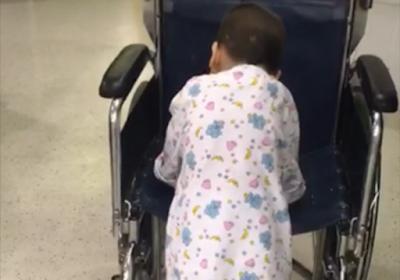 Israel remove tumor de menino palestino