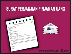 Gambar Contoh Surat Perjanjian Pinjaman Uang
