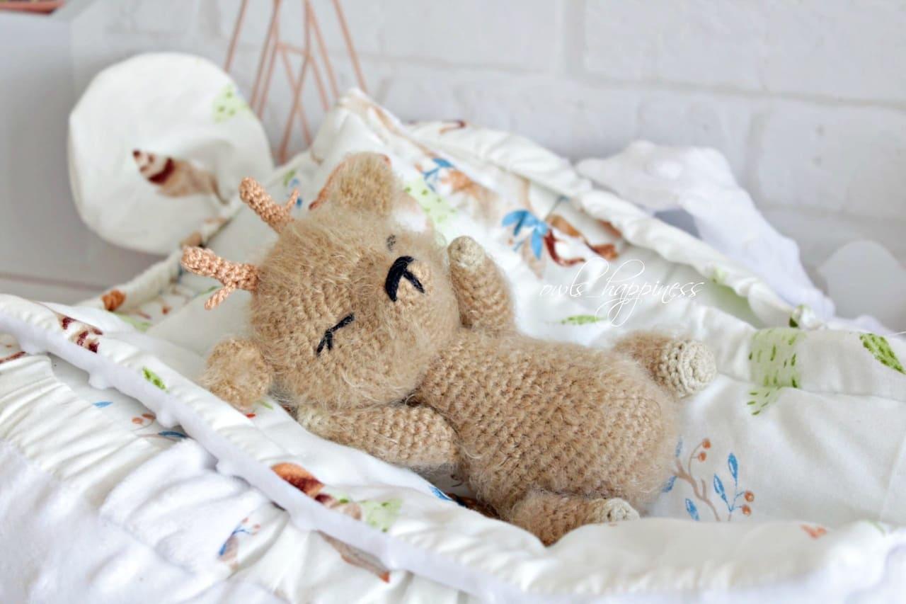 Amigurumi baby deer pattern