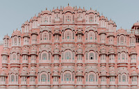 Hawa Mahal. (Photo credit: Annie Spratt) Click to Enlarge.