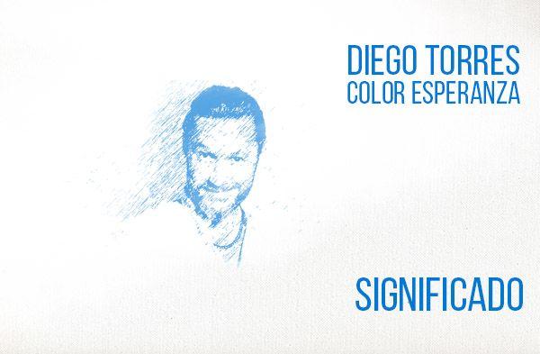 ¿Qué significa la canción Color Esperanza de Diego Torres?