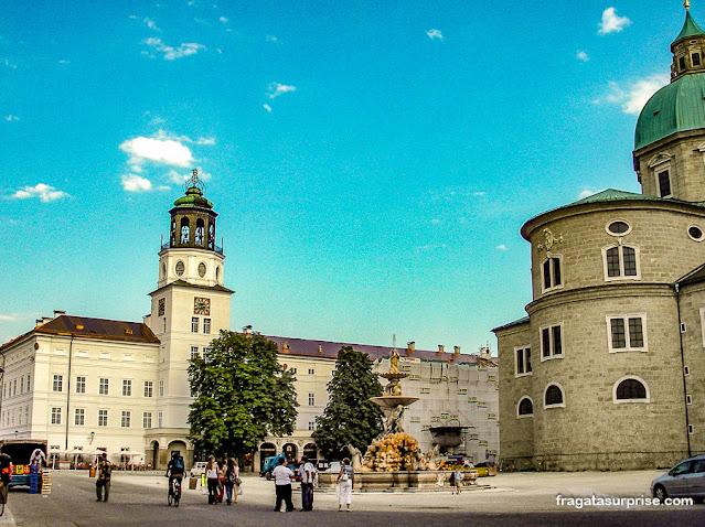 Residenz Platz, Salzburgo, Áustria