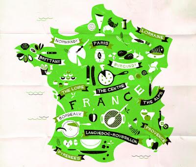 francuskie regiony kulinarne