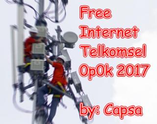 internet gratis telkomsel tanpa kuota tanpa pulsa terbaru oktober 2017