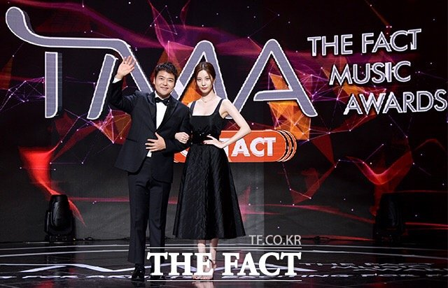 SNSD Seohyun at the 2020 The Fact Music Awards