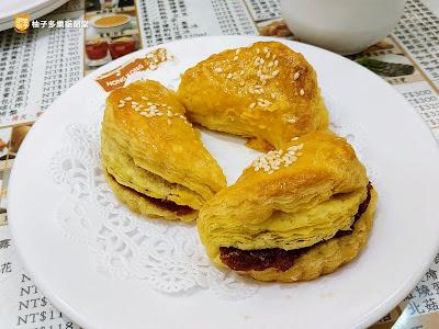 香港茶水攤-延吉店,蜜汁叉燒酥