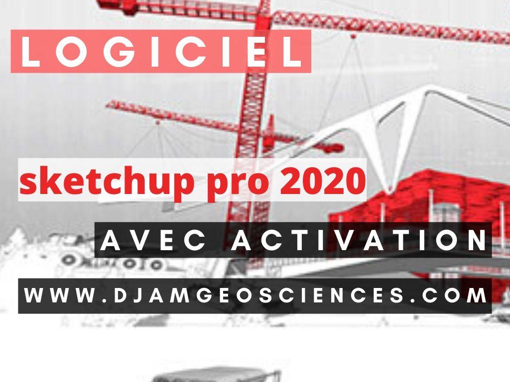 SKETCHUP 2020 | téléchargement installation et activation sans problèmes  2020: