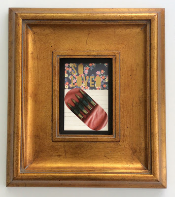 pill art pop art modern art pharmacy art collage art modern pill art stefanie Girard