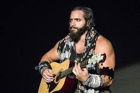 WWE Elias Samson John Cena Guitar Elimination Chamber