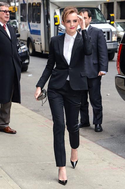 Emma Watson in Suit