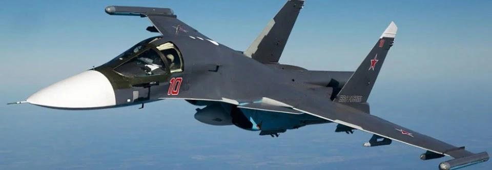 Сухой виконав контракт з поставки Су-34 для ВКС Росії
