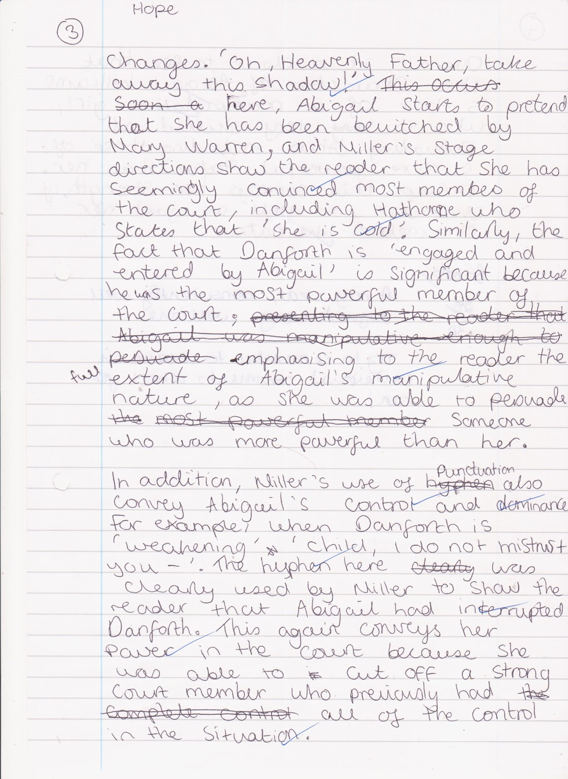 ms weddle s class of blog  dylan s essay for a clear argument and good use of context