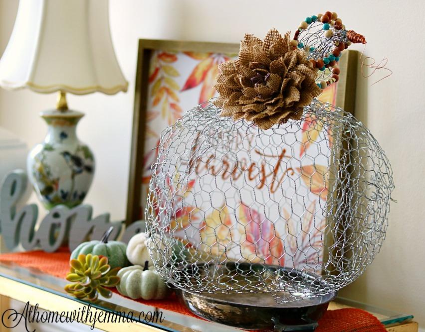 chicken-wire-craft-pumpkin-fall-tutorial-athomewithjemma