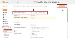 Cara Membuat Jumlah Postingan di Beranda (Home) Blogspot