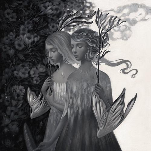 Amy Sol, imagenes de soledad femenina bonitas, rostros tristes, hermosas hadas del bosque surrealista, imagenes chidas de arte inspirador, mujer y flores