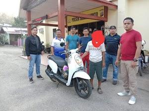 Maling Motor di Masjid Ashriyah Saok Laweh, YT Ditangkap di Sawahlunto
