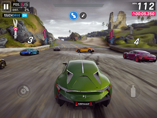 Game Android Bagus RAM 2 GB - Asphalt 9 Legends
